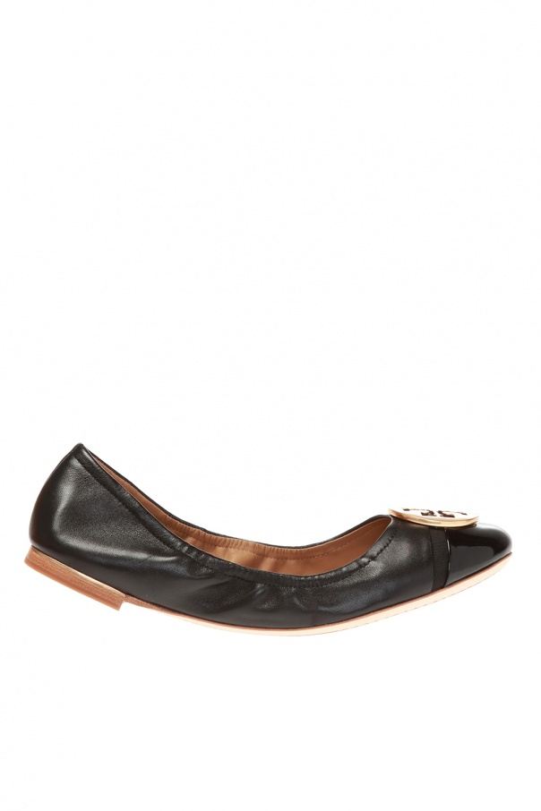 Tory Burch 'Minnie' leather ballet flats
