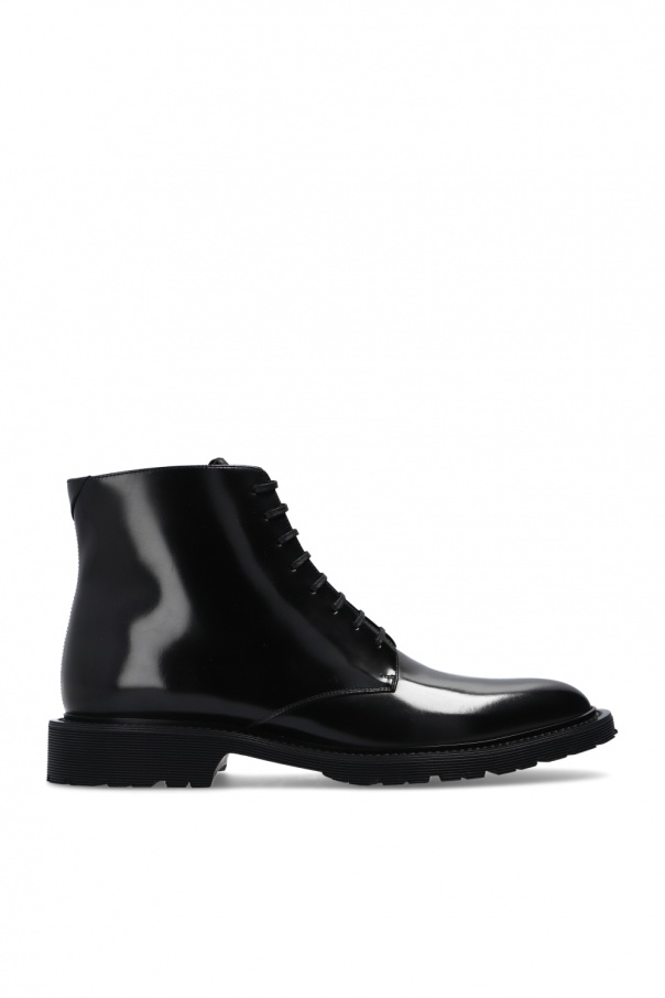 Saint Laurent Smooth leather ankle boots