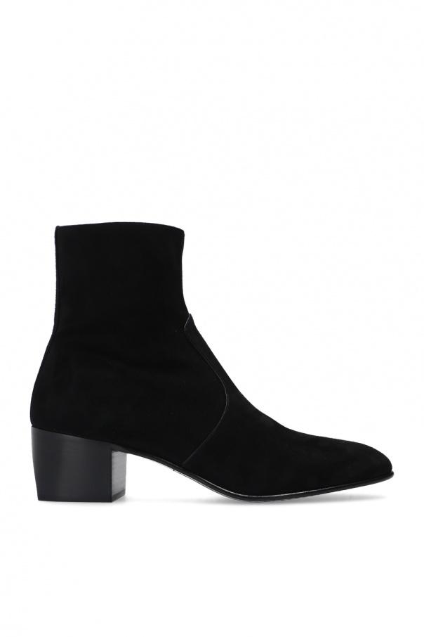 Saint Laurent 'James' heeled ankle boots