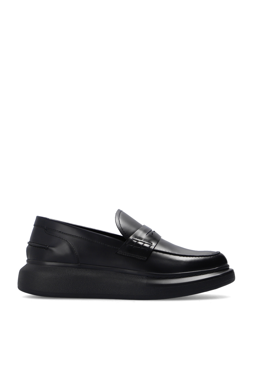 Alexander McQueen Leather moccasins