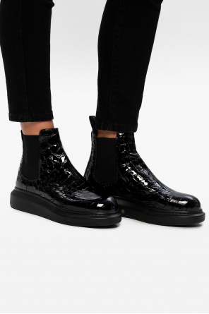 Flagship sole ankle boots od Alexander McQueen