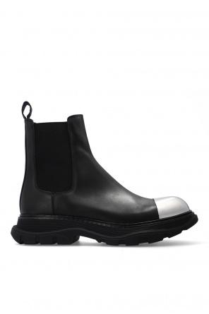 Slip-on platform boots od Alexander McQueen