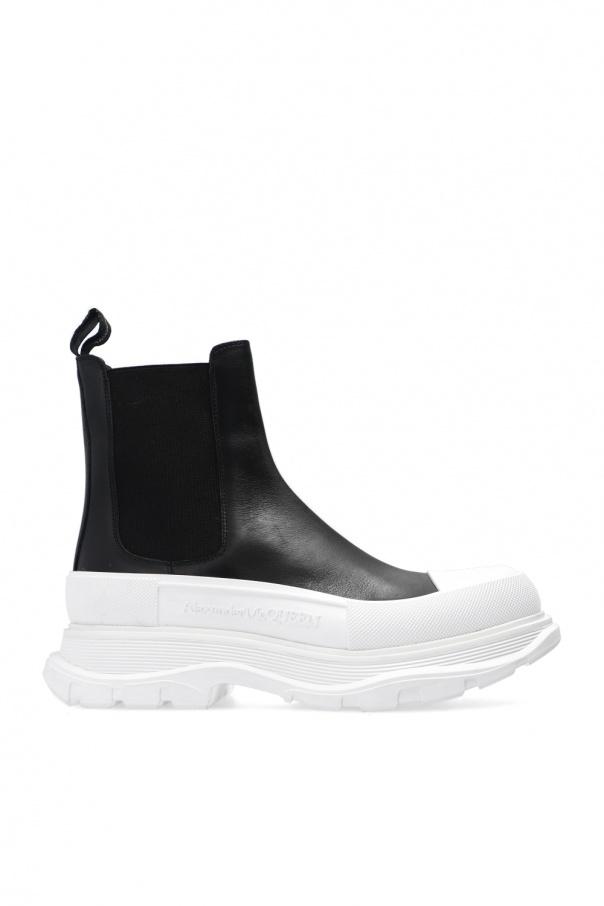 Alexander McQueen Slip-on platform boots