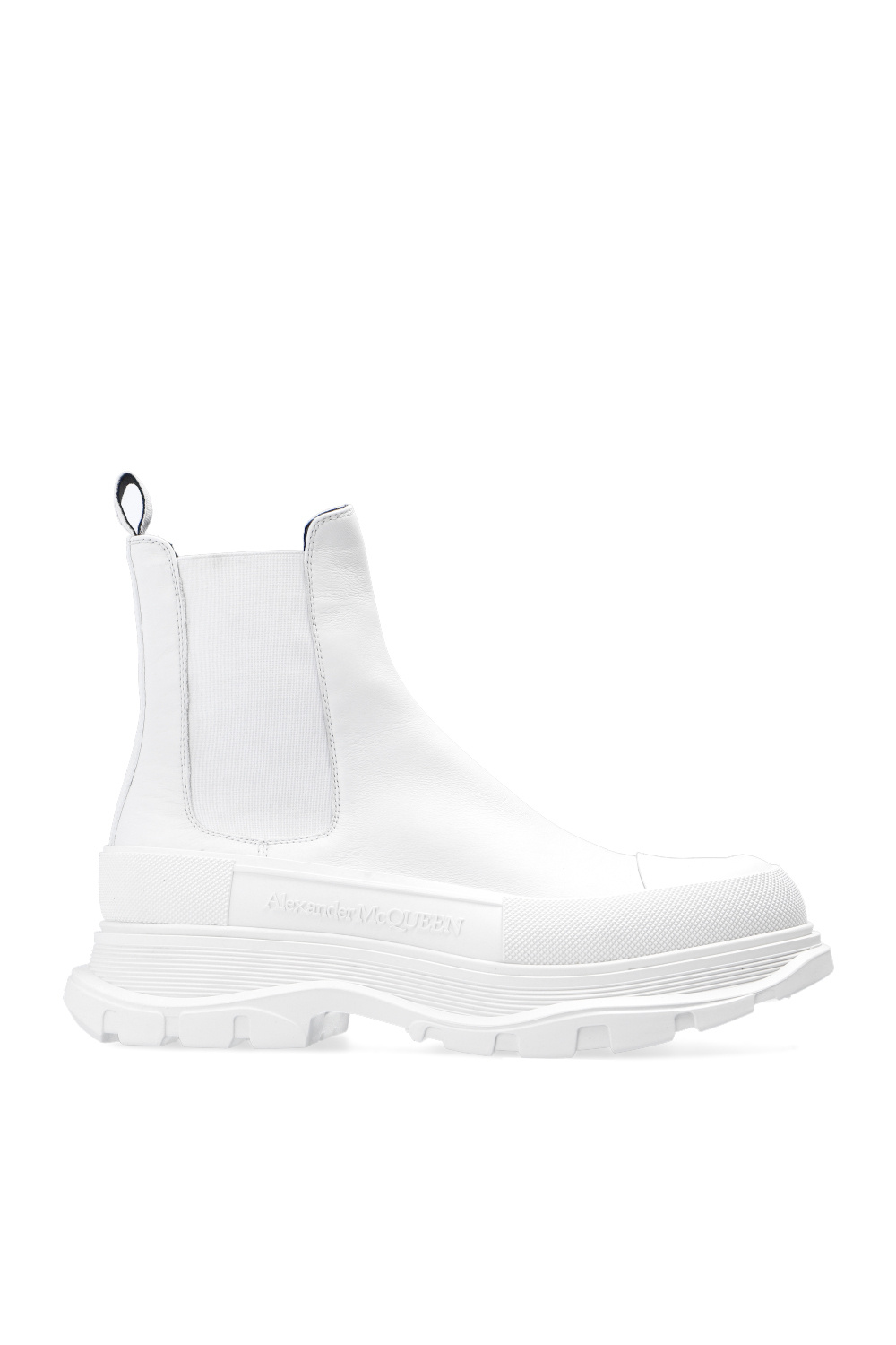 Alexander McQueen Chelsea boots with chunky sole