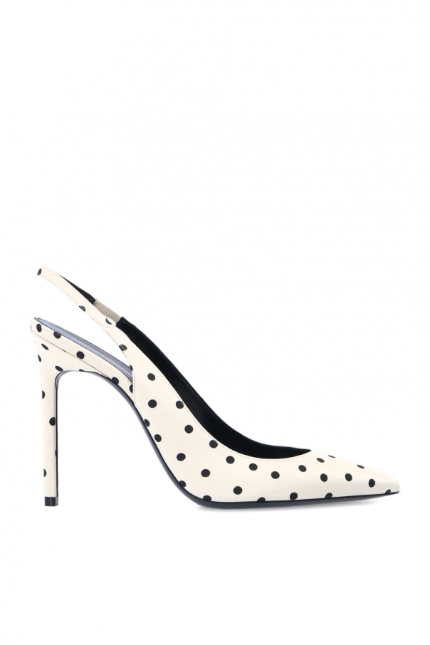 Saint Laurent 'Anja' patterned stiletto pumps