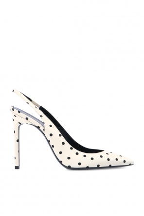 'anja' patterned stiletto pumps od Saint Laurent
