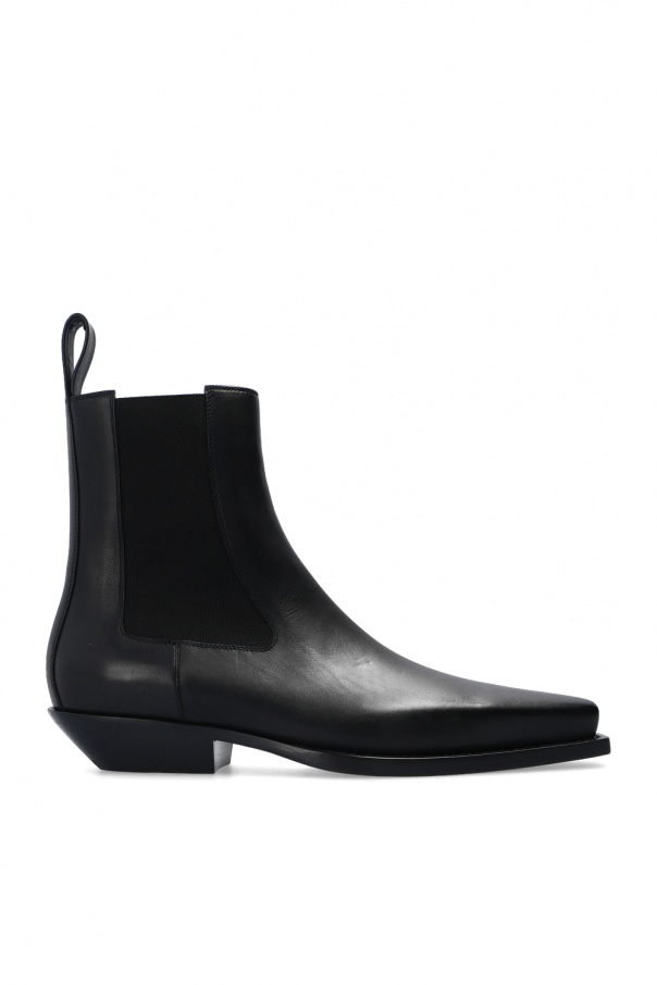 Bottega Veneta 'BV Lean' heeled ankle boots