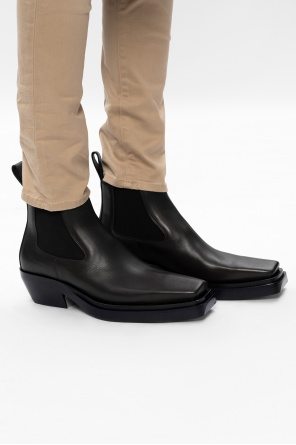 'bv lean' heeled ankle boots od Bottega Veneta