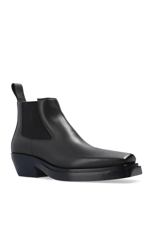 Bottega Veneta 'BV Lean' heeled ankle boots