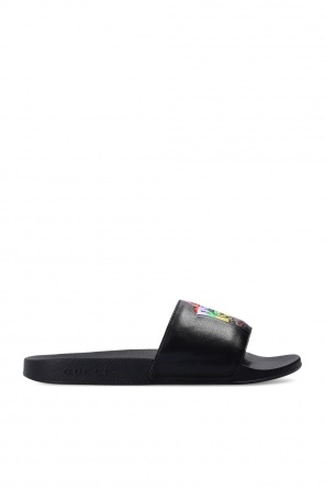 Rubber slides with logo od Gucci
