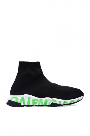 'speed lt graffiti' sock sneakers od Balenciaga