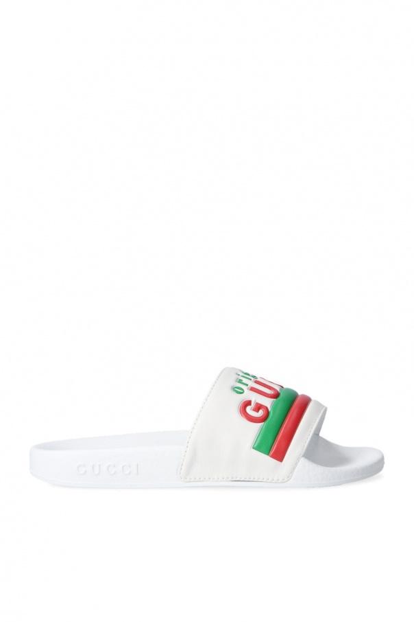 Gucci Kids Logo slides