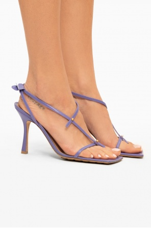 'stretch' heeled sandals od Bottega Veneta