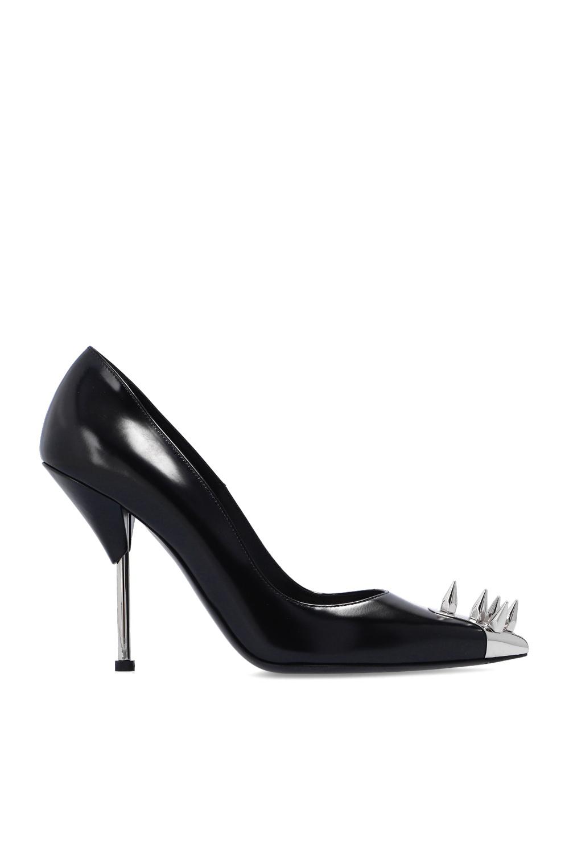 Alexander McQueen Appliquéd stiletto pumps