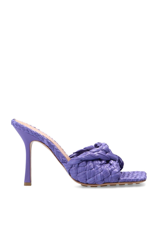 Bottega Veneta 'Stretch' heeled mules