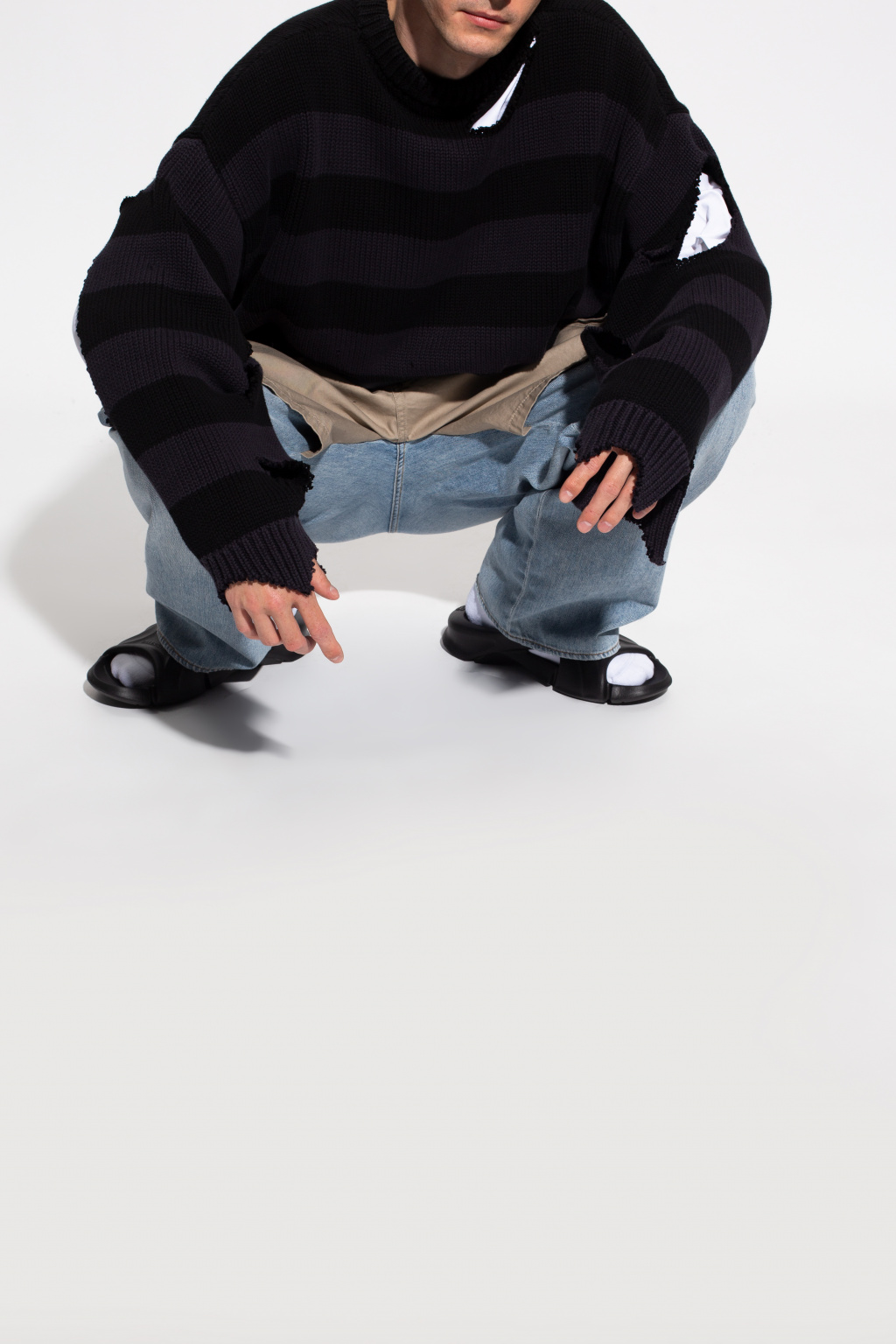 Balenciaga 'Mold' slides with logo