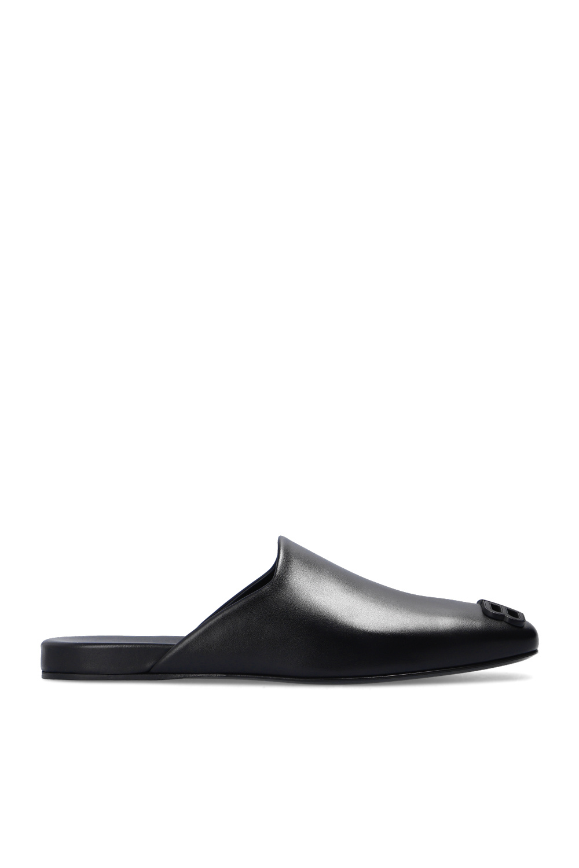 Balenciaga 'Cosy' leather slides