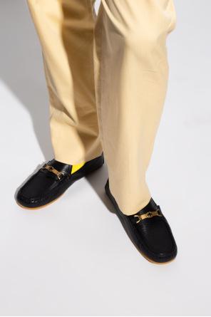 Leather moccasins od Gucci