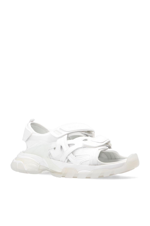 Balenciaga 'Track' sandals with logo