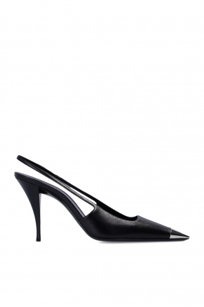 'blade' slingback pumps od Saint Laurent