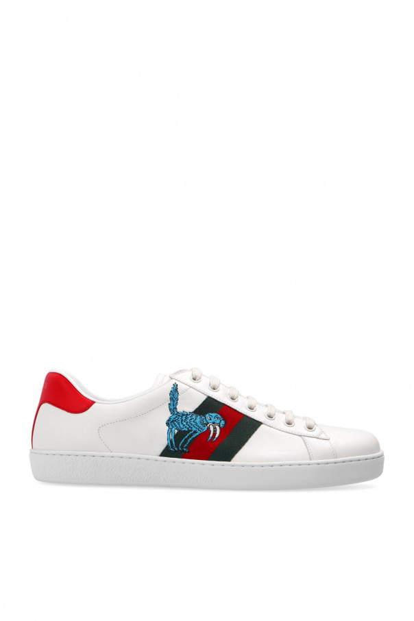 Gucci Sneakers with Web stripe