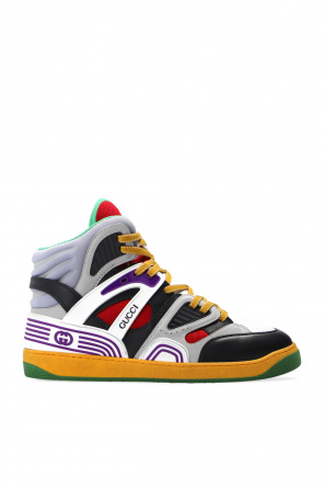 'gucci basket' high-top sneakers od Gucci