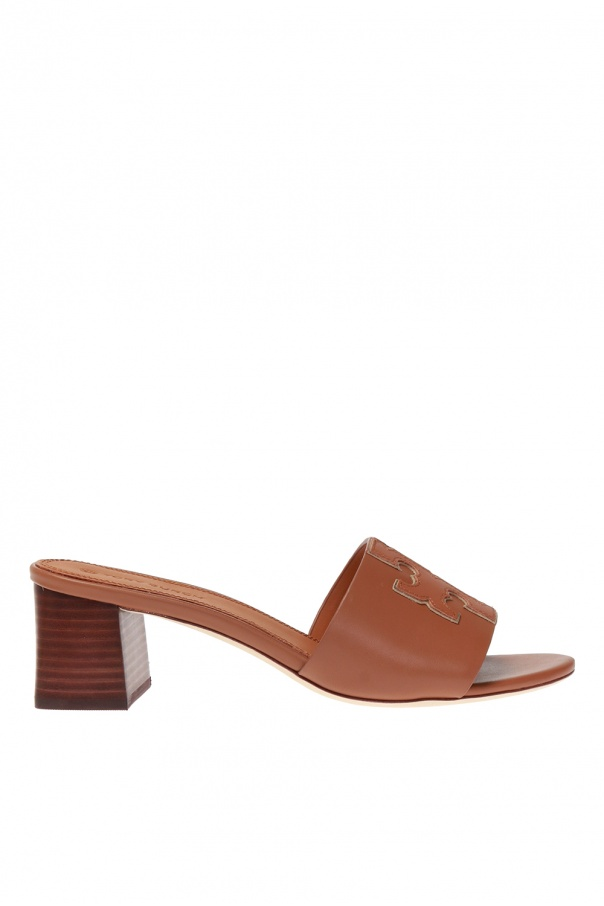 Tory Burch Heeled mules with logo