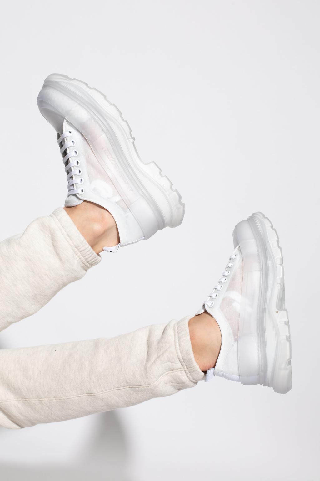 Alexander McQueen Buty sportowe na platformie