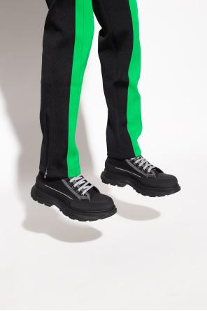 High-top sneakers od Alexander McQueen