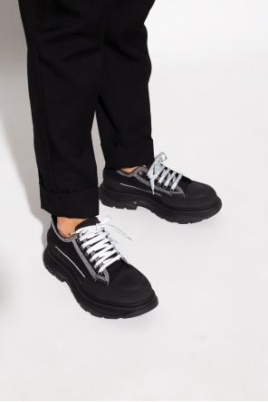 Logo-embossed sneakers od Alexander McQueen