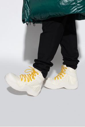 Lace-up platform shoes od Bottega Veneta