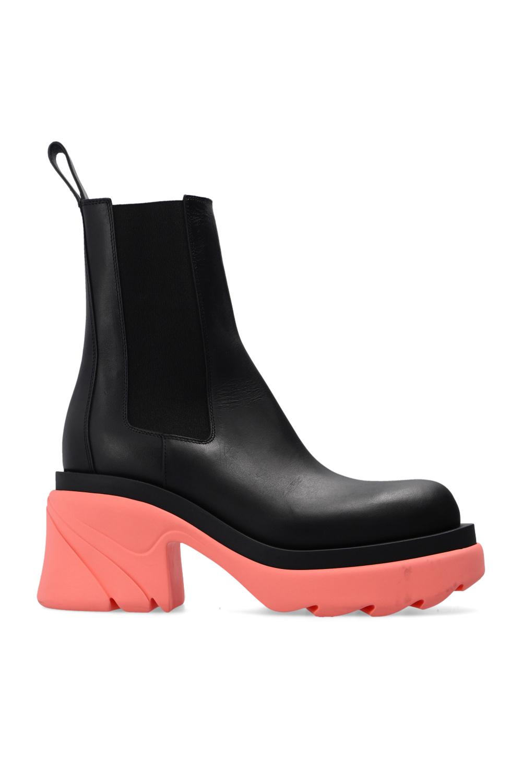 Bottega Veneta 'Flash' platform ankle boots
