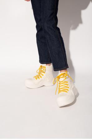 'puddle bomber' ankle boots od Bottega Veneta