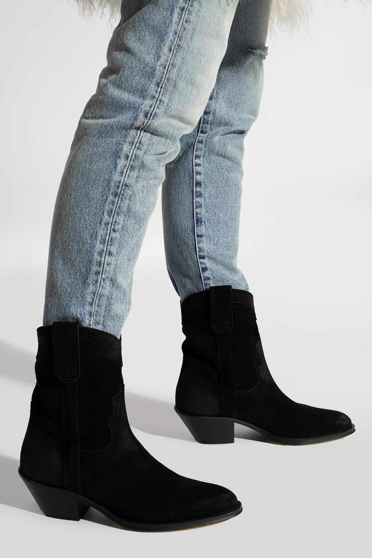 Saint Laurent 'Eastwood' heeled cowboy boots