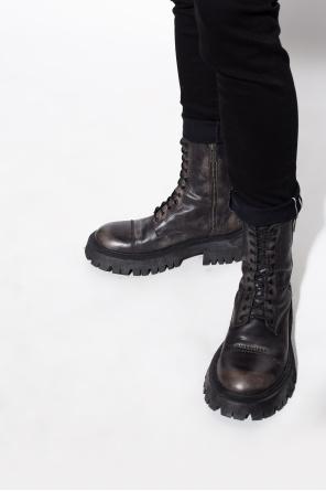 Leather boots od Balenciaga
