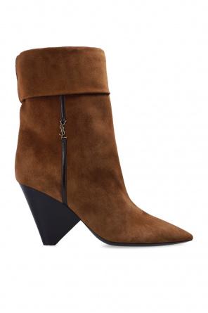 'liz' heeled ankle boots od Saint Laurent