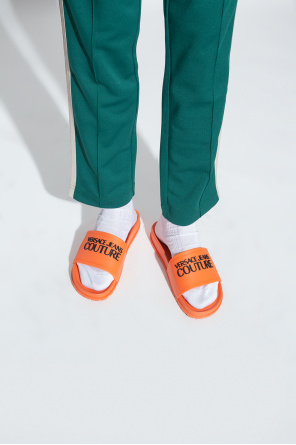 Slides with logo od Versace Jeans Couture