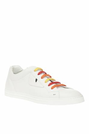 Leather sneakers od Fendi