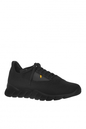 Eye motif sneakers od Fendi