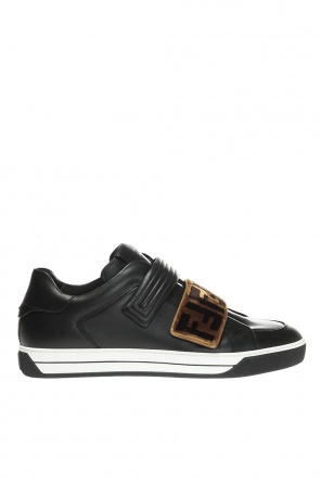 Sneakers with velvet velcro od Fendi