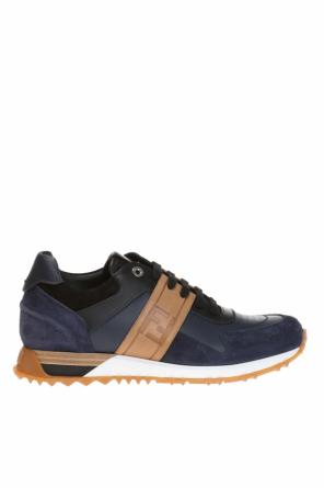 Lace-up sneakers with logo od Fendi