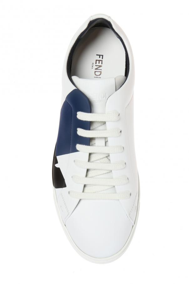 Sports shoes with an embossed logo od Fendi