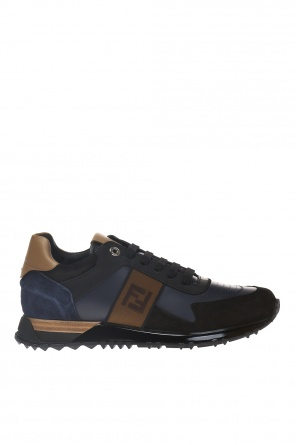 Sport shoes with a patch and logo od Fendi
