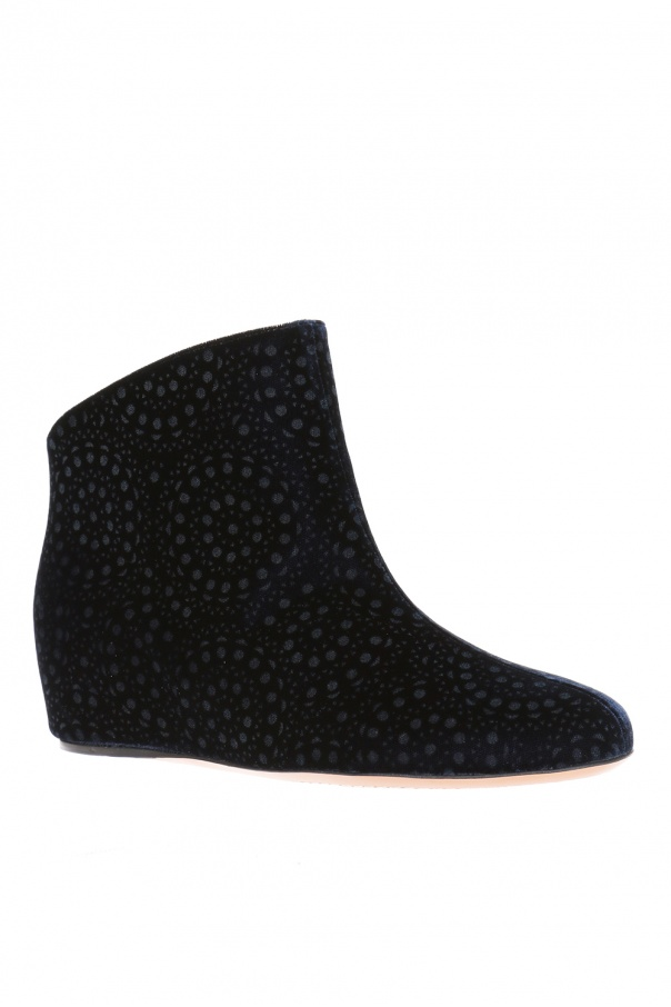 Wedge ankle boots od Alaia
