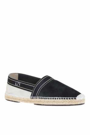 Logo-embroidered espadrilles od Fendi