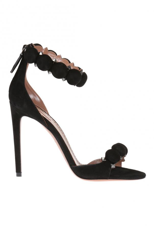 Alaia Suede high heel sandals