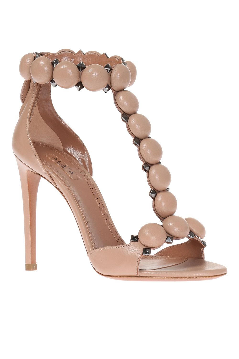 Alaia Leather high heel sandals