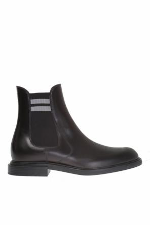Leather chelsea boots od Fendi
