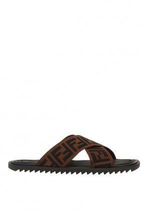 Slides with logo od Fendi