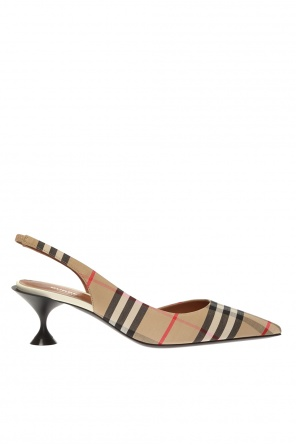 Patterned stiletto pumps od Burberry
